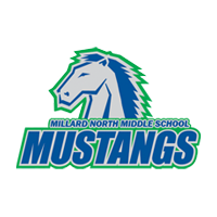 Millard north middle school mustangs